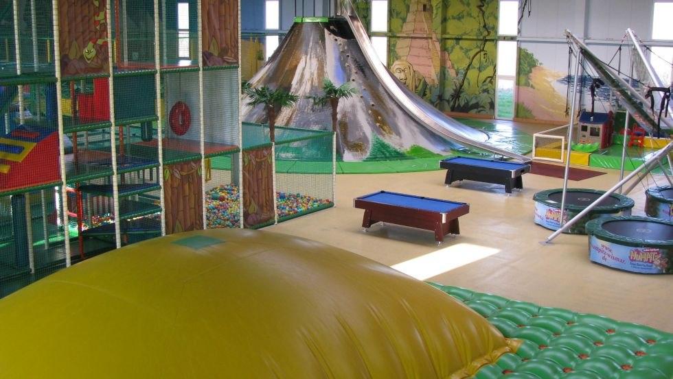 Innenansicht des Indoor-Spielparks Mumpitz, © Indoor-Spielpark Mumpitz