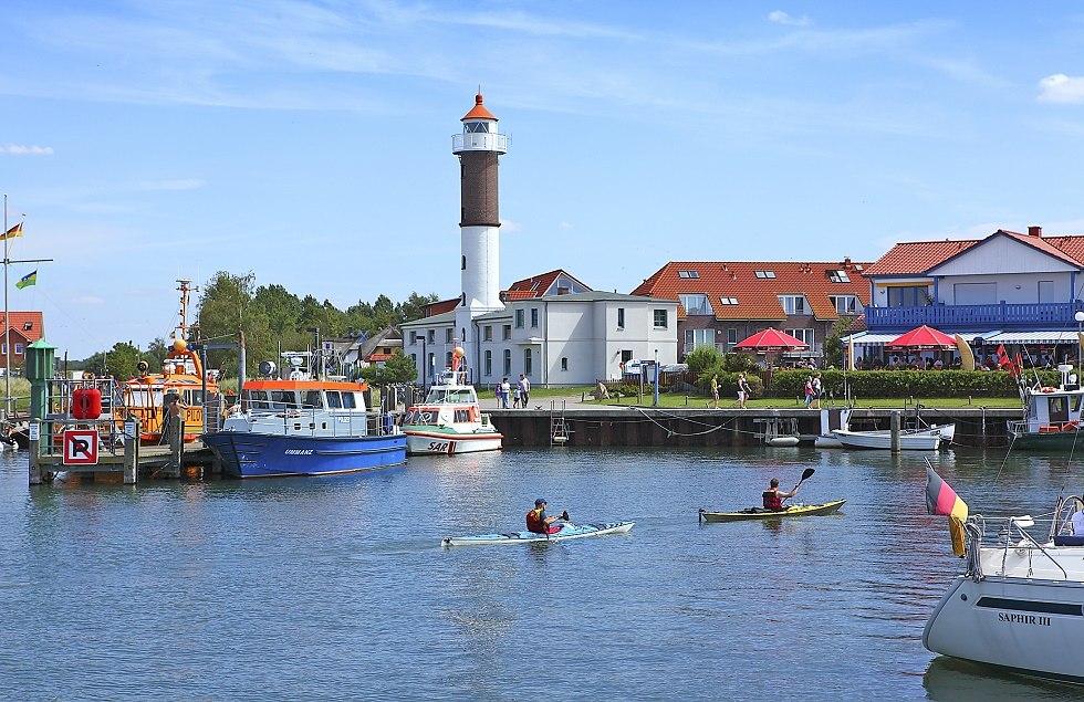 Der Leuchtturm im Timmendorfer Hafen, © Kurverwaltung Ostseebad Insel Poel, René Legrand