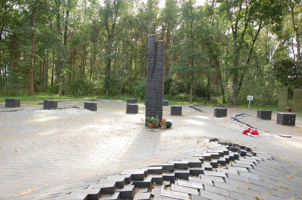 Auf dem ehemaligen Lagergelände befindet sich heute eine Gedenkstätte., © Gabriele Skorupski