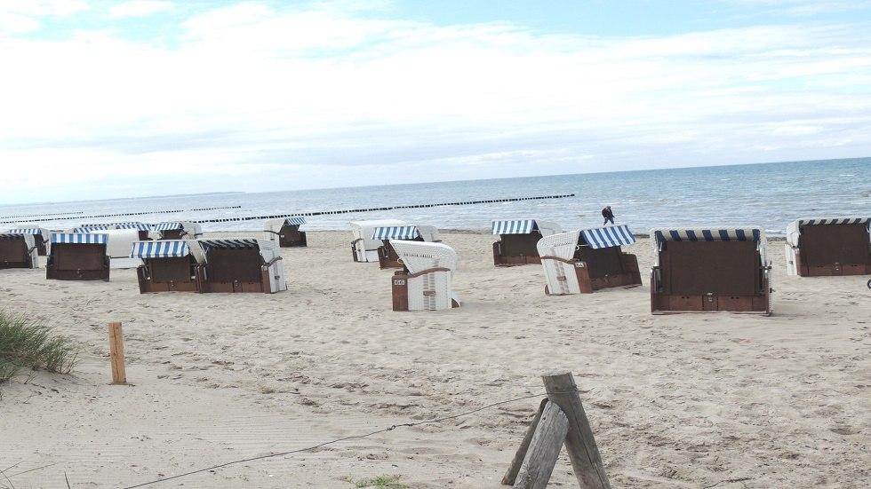 Blick zum Strand, © Kurverwaltung Insel Poel