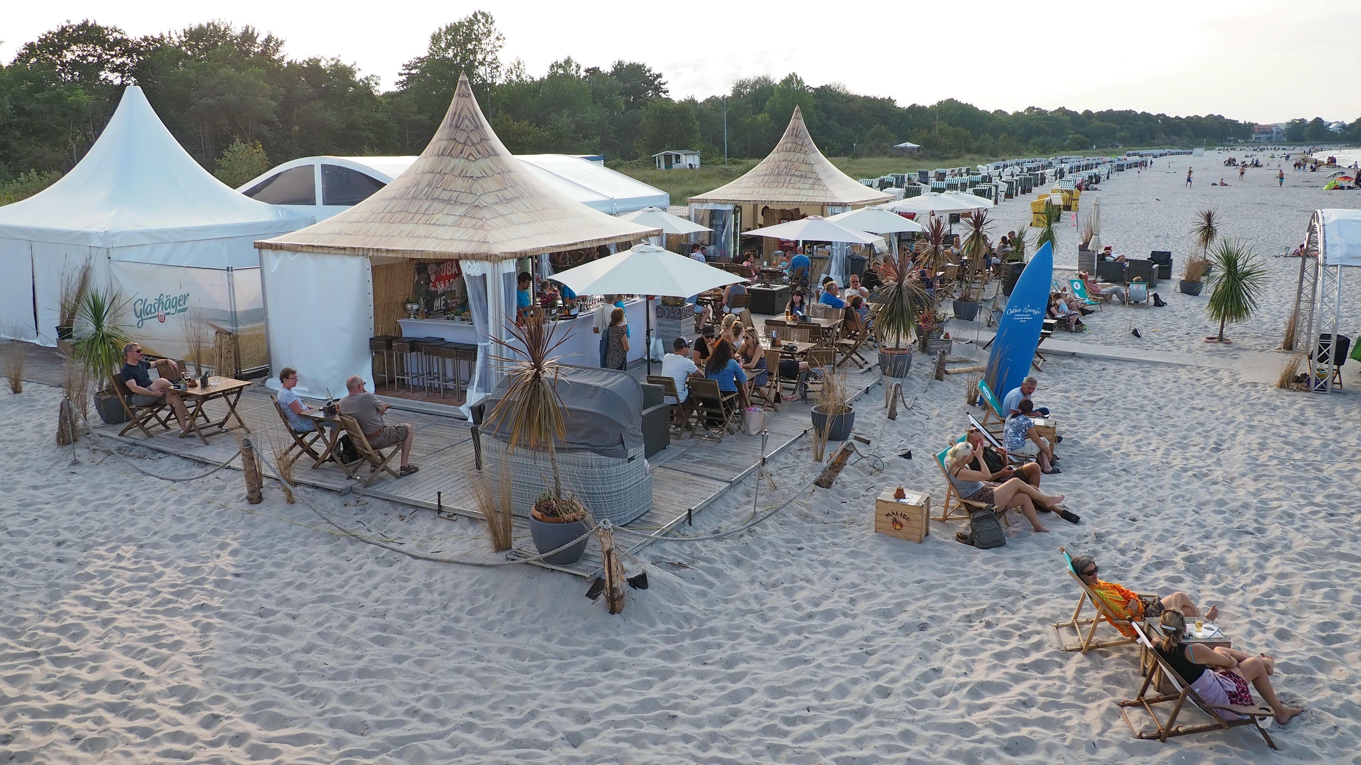 Beach Lounge Boltenhagen, © KV Boltenhagen