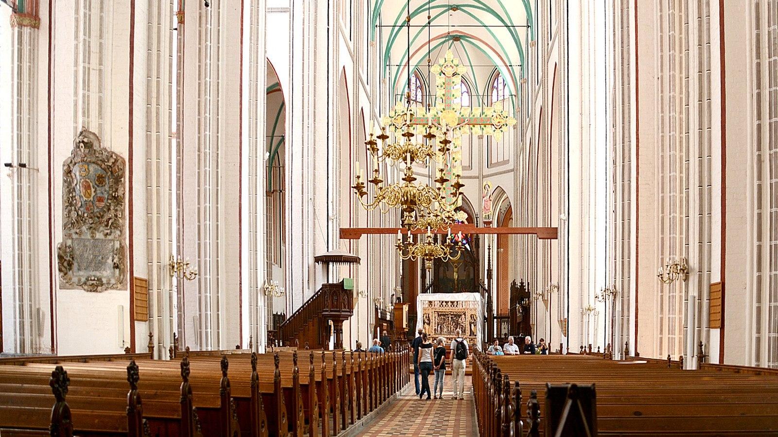 Blick auf den Altarbereich, © Tourismusverband Mecklenburg-Schwerin