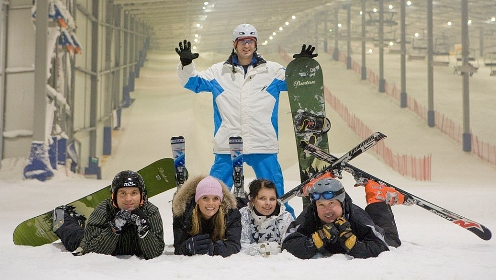 Freudiges Strahlen beim Wintersport im alpincenter Hamburg-Wittenburg, © alpincenter Hamburg-Wittenburg