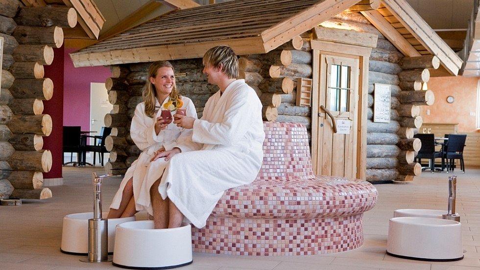 Für Entspannung sorgt ein Saunadörfl mit 3 verschiedenen Saunen., © Hotel Hamburg-Wittenburg van der Valk GmbH